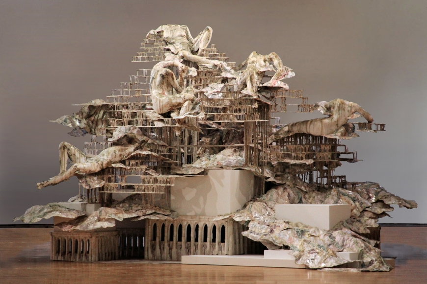 Nolli's Orders by Diana Al Hadid  Photo credit: Dennis Harvey
