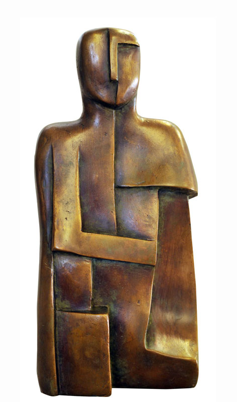 Portrait of Ancestor No. III  2006. Bronze