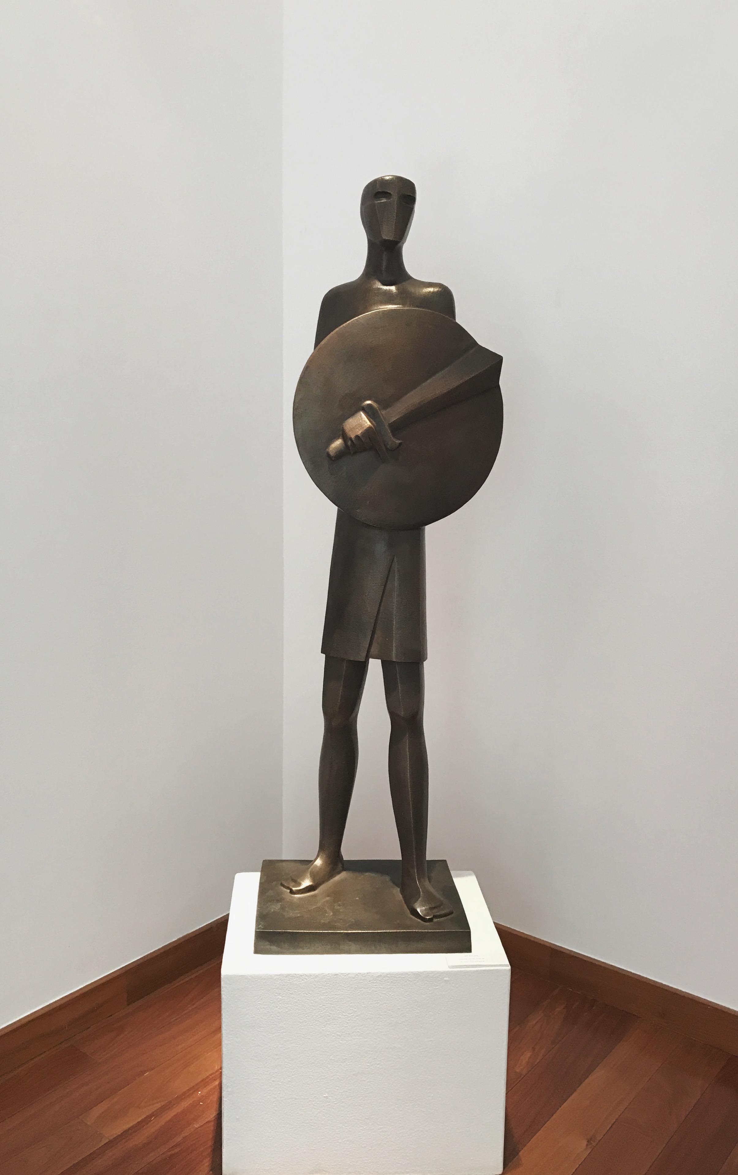 Ahmed AbdelTawab  Bronze  45 x 137 x 30 cm  2017