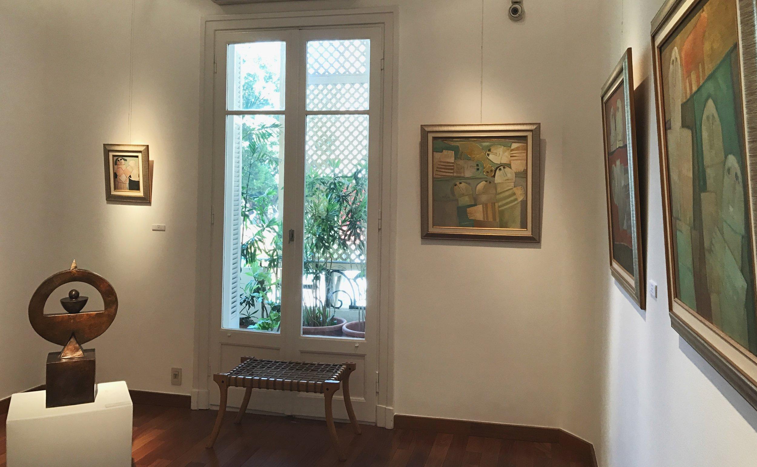 Zamalek Art Gallery'Masterpieces XVI'16.7.17 - 20.9.1711 Brazil St. -