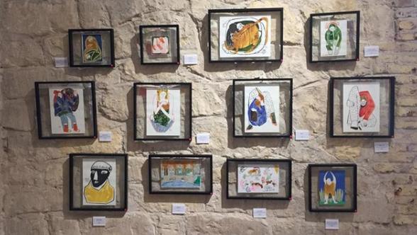 A glimpse of the  Bastirma  exhibition   Credits: Lina AlSharif