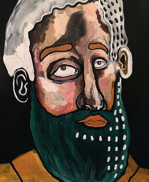 The Beard Series by Naila Marei
