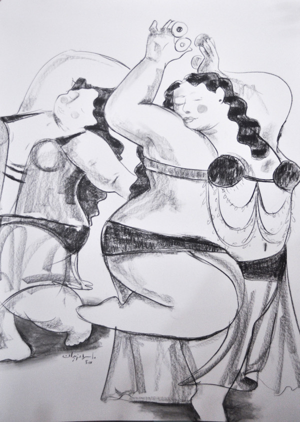 Bellydancers 100 x 70 Charcoal-on-white-paper-100x70-5000.jpg