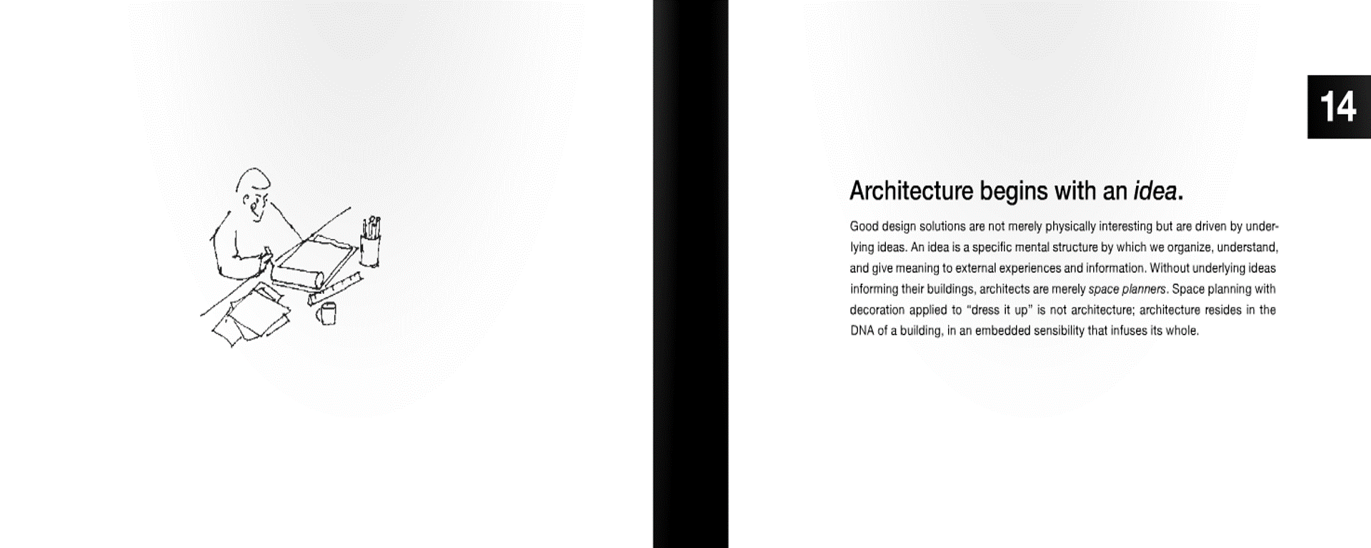 Frederick, M., 2007.   101 things I learned in architecture school  . Cambridge: Mit Press.