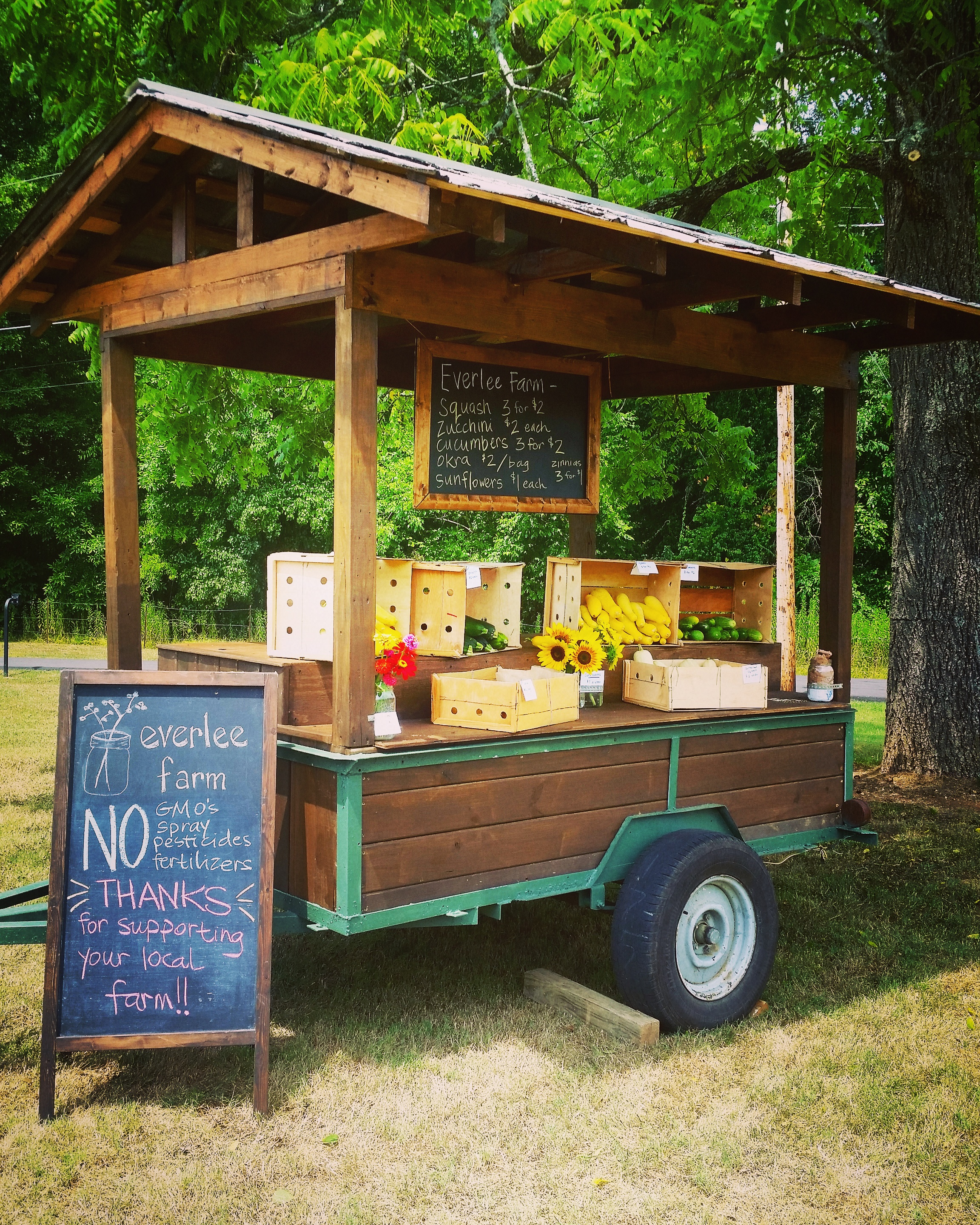 Farm Stand is OPEN! Mondays and Thursdays All Day!