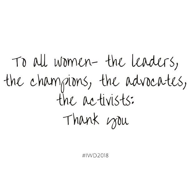 To all the world changing women - thank you, thank you, thank you! Happy International Women's Day! #iwd2018 #iwd #internationalwomensday #internationaleomensday2018 #womenentrepreneur #womenforwomen #changemakers #girlsrule #girlboss #socialjustice #socialjusticestartup