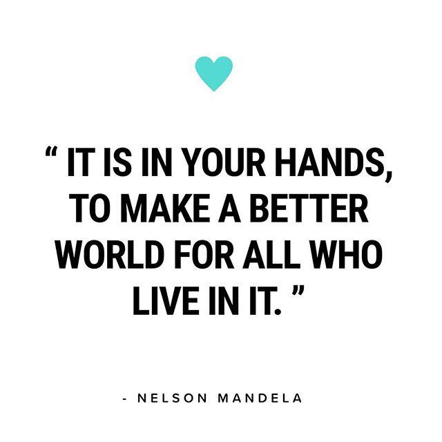 Celebrating the life of a man who walked his talk. Happy Mandela Day! Now let's get to work world changers! #mandeladay #mandeladay2018 #nelsonmandela #worldchangers #socialenterprise #socialjustice #socialentrepreneur