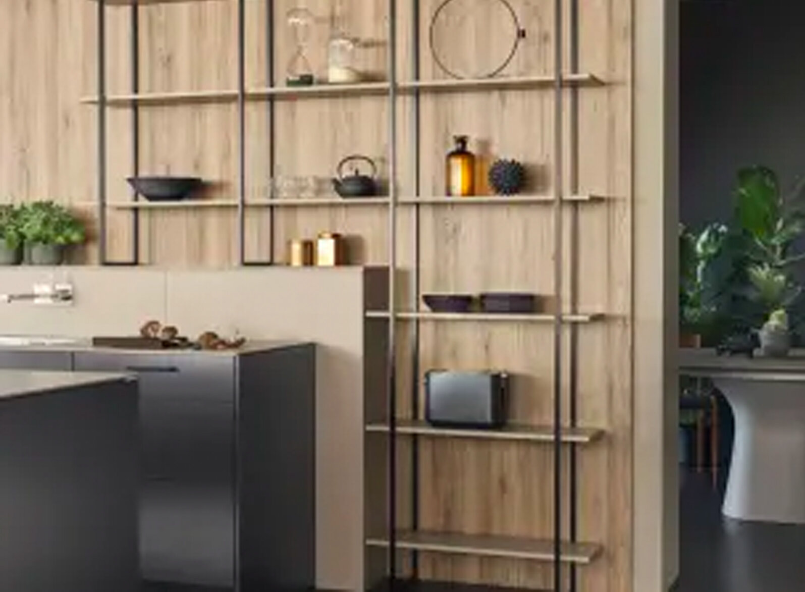 SHELVING SYSTEM FIOS  The shelving system with 16 mm metal brackets consists of mounted shelves. In terms of dimensions, the metal brackets are flexible and are available in several colours. The shelves are 16 mm or 28 mm thick and are available in many materials.