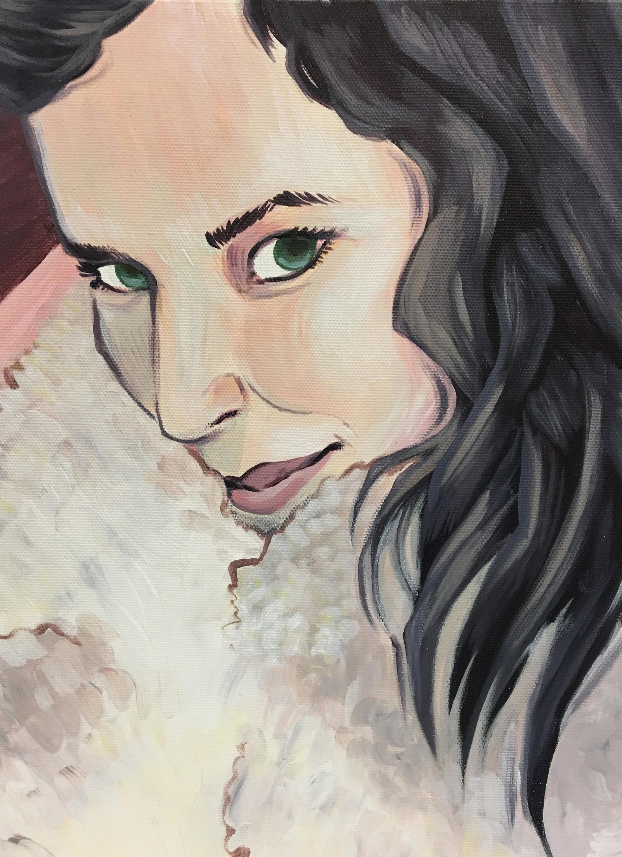 Maia  (2017), Acrylic paint on canvas