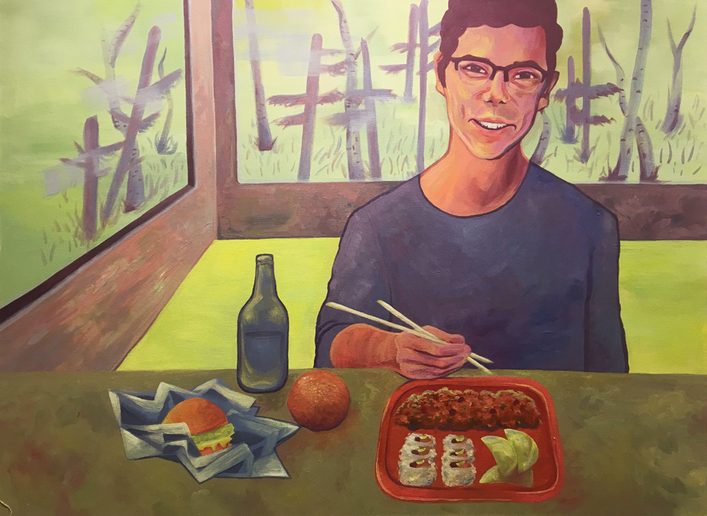"""""""Breakfast, Lunch, and Dinner,"""" Izzy Peterson, 2018"""