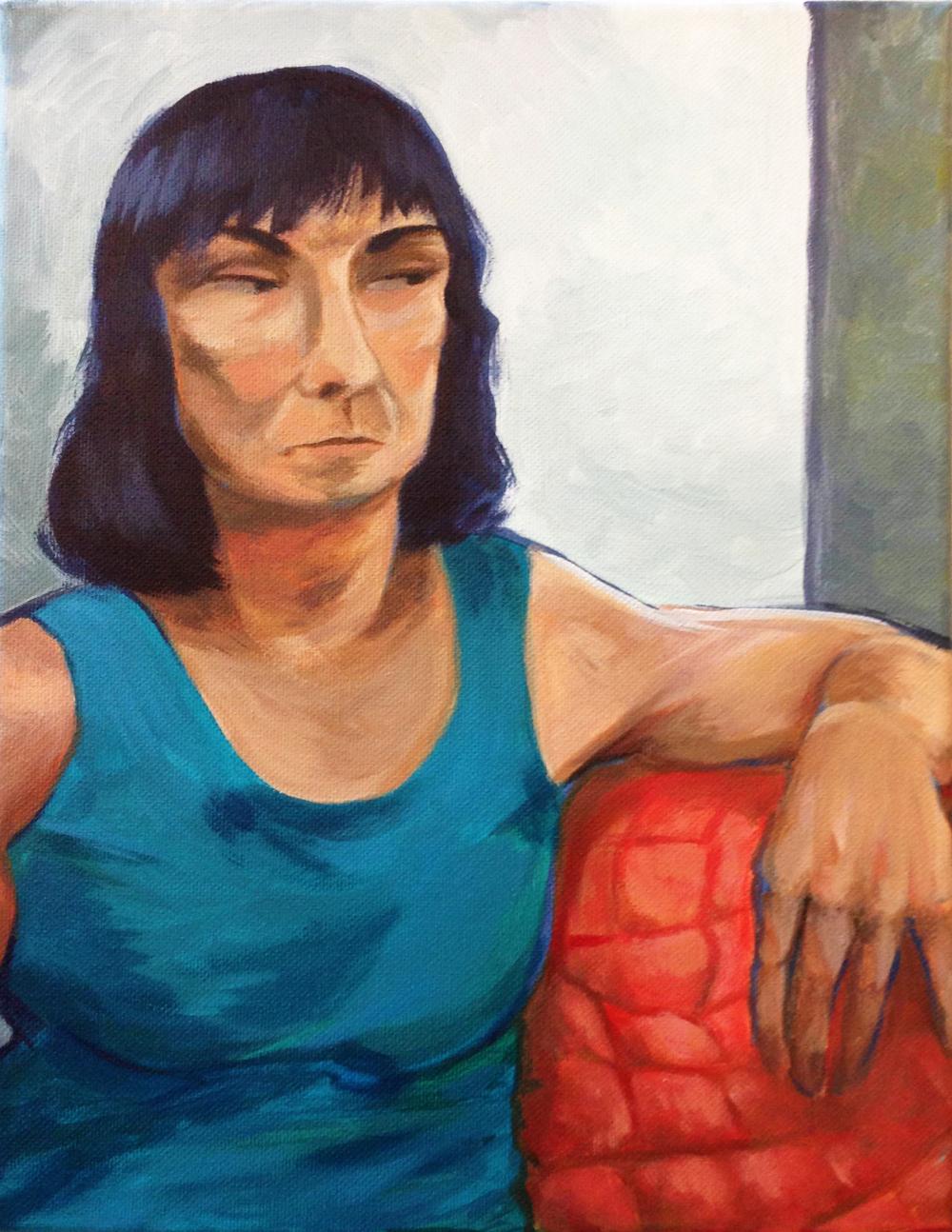 """""""Figure Study,"""" Izzy Peterson, 2015"""