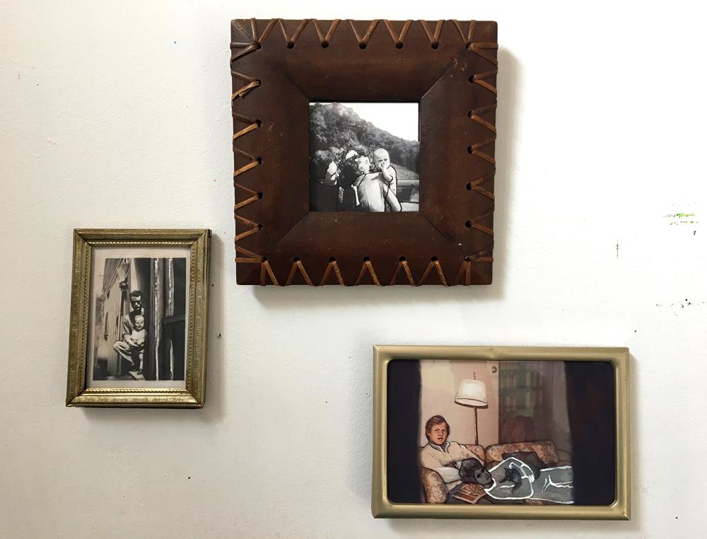 """""""Nana"""" (Triptych), Izzy Peterson, 2019"""