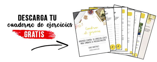 How to learn Spanish if the distractions are all around us? Today let's talk about the procrastination and how it can really ruin our plan and slow down our personal development. But fear not! I share 10 practical tip to stop procrastinating and take your Spanish to the next level [+ freebie that will help you] . Apply these tips today and see how quickly your conversational Spanish is improving. Click through to read all the tips and hare your progress in comments   J