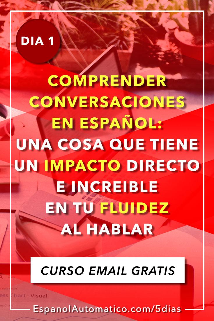 ¿Estás apuntado ya a nuestro súper curso? ¡En 5 días aprenderás español como nunca! ¡Pssst! Es gratis http://espanolautomatico.com/5dias REPIN for later