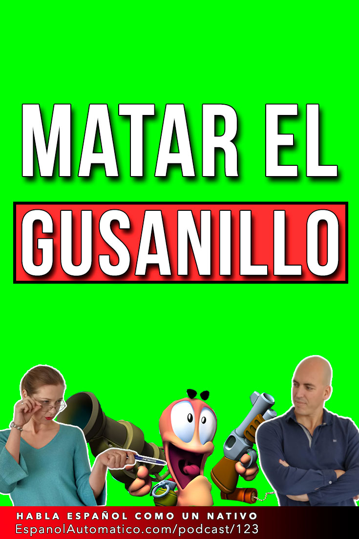 Matar el gusanillo (B2) I español coloquial I hablar español con fluidez   Learn Spanish in fun and easy way with our award-winning podcast: http://espanolautomatico.com/podcast/123 REPIN for later #teachspanish #speakspanish #spanishlessons #learnspanishforadults #learnspanishforadultsfree #learningspanish #learningspanishlanguage