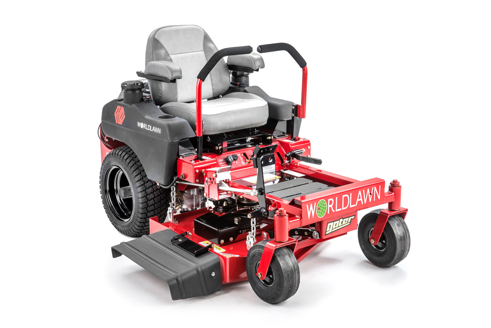 Gater - The Gater is a commercial mower by Worldlawn Power Equipment featuring a 34