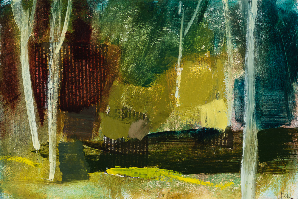 Trees at Ladywell Oil and collage 10x15%22.jpg