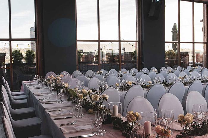 Få tips til borddekning til bryllupsfeste
