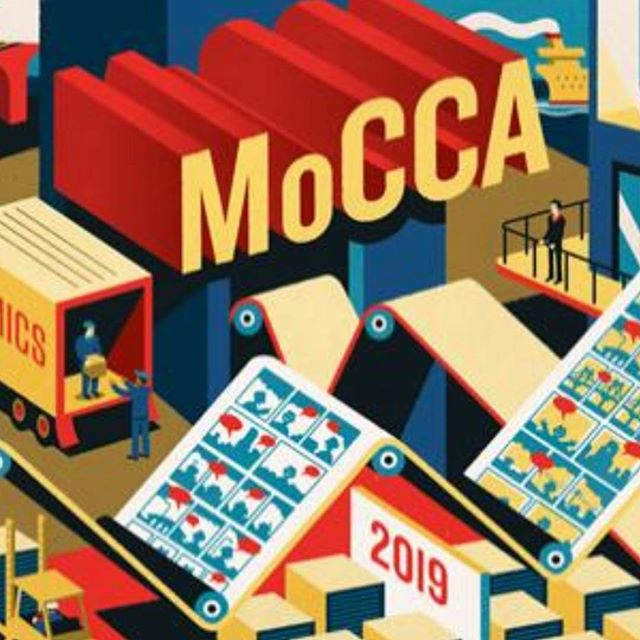 Ah so excited to be a part of the 2019 MOCCA Art Festival this weekend with @girlfriendsnyc. Sat&Sun April 6-7. (West 46th Street between 11th and 12 Avenues) Come visit me: booth E183