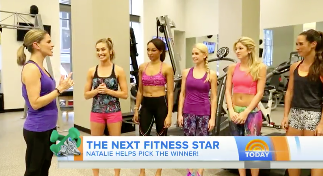 Today Show: Stylist for Women's Health segment on The Next Fitness Stars