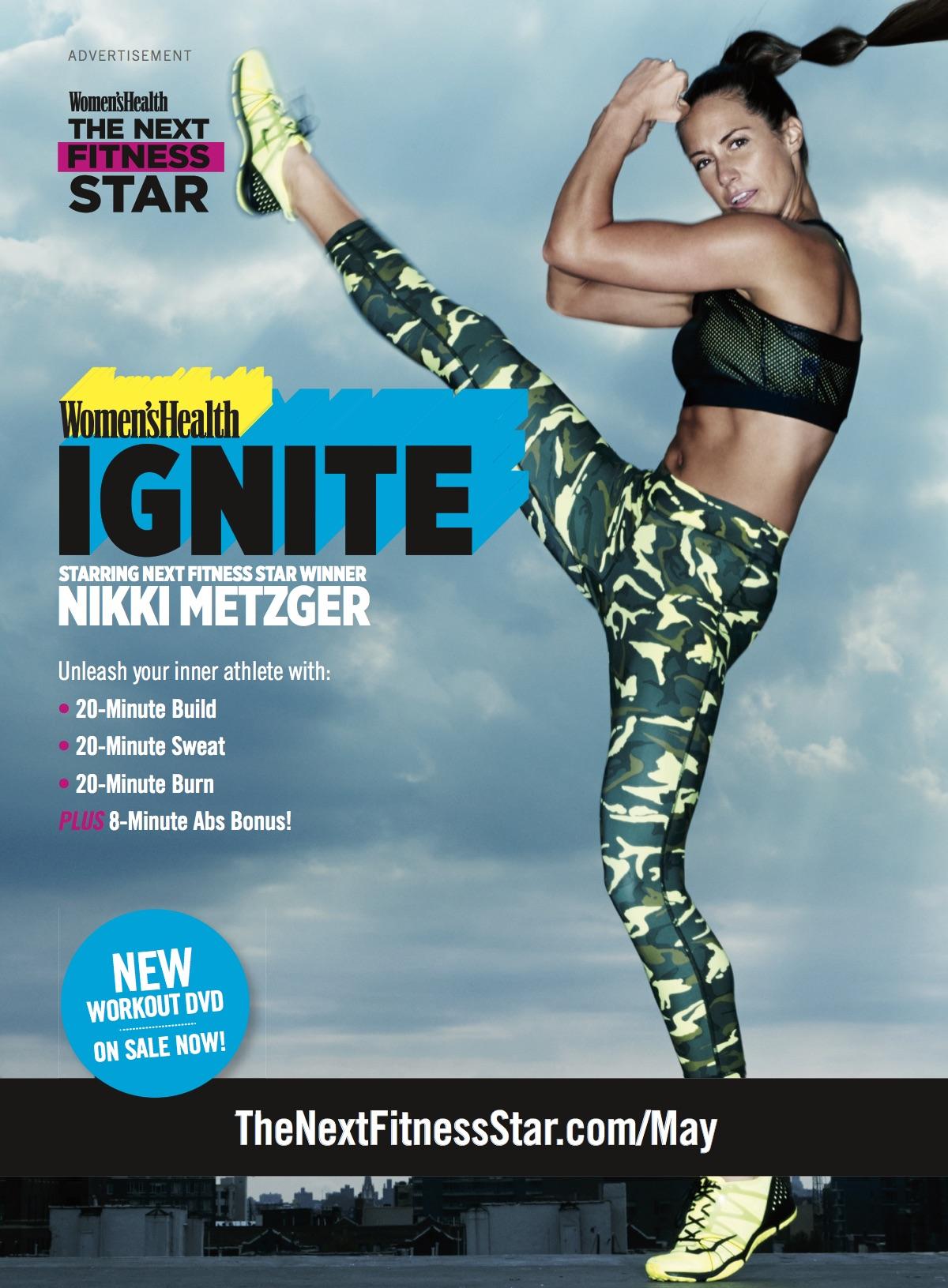 DVD: Ignite with Women's Health Next Fitness Award Winner