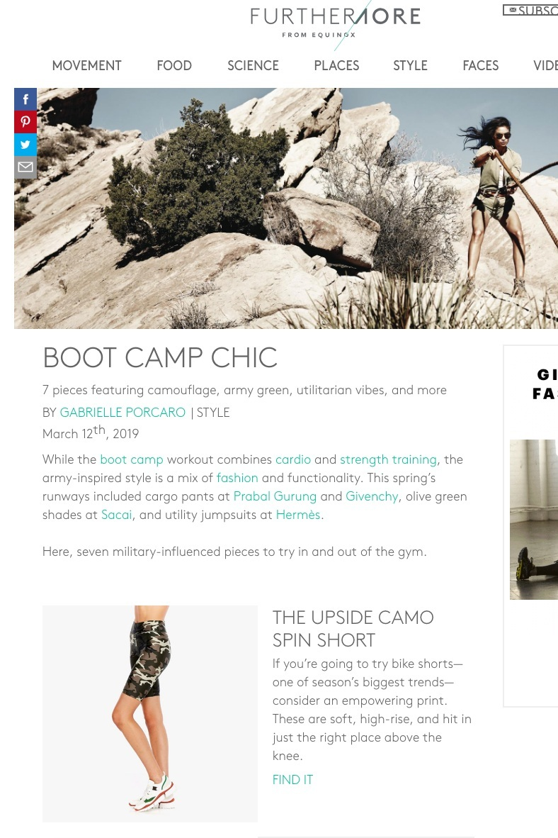 Furthermore: Boot Camp Chic - March 12, 2019