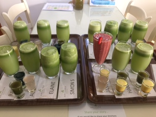 Personalised juices and shots
