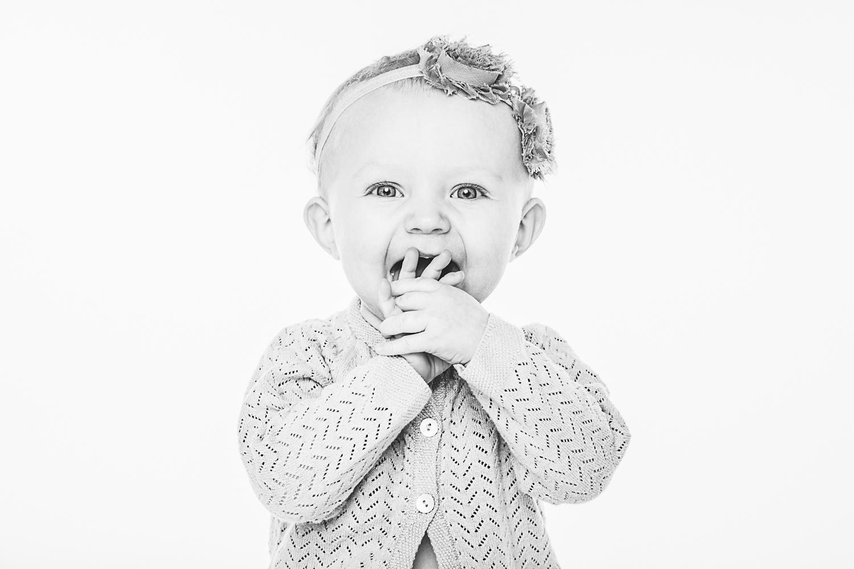 Barnefotografering jente