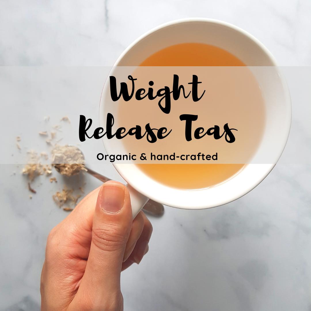 Weight Release Organic Teas - Hand-crafted, organic wellness teas