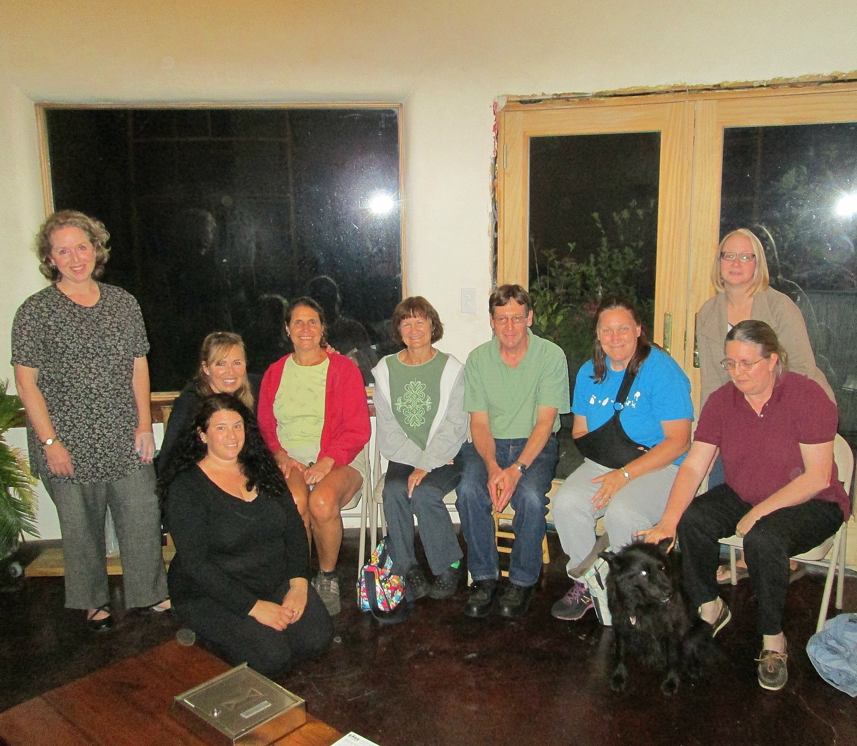 Our wonderful Dog Park committee members