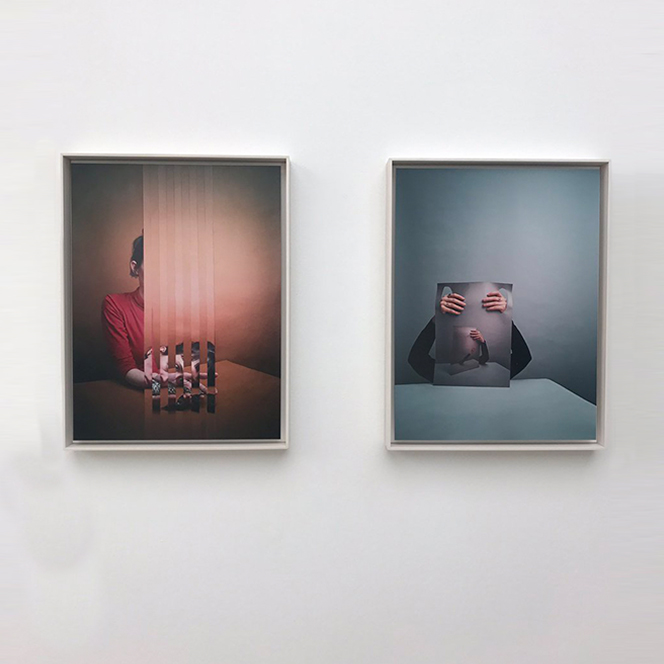 Alma Haser's collaged photographs at Saatchi