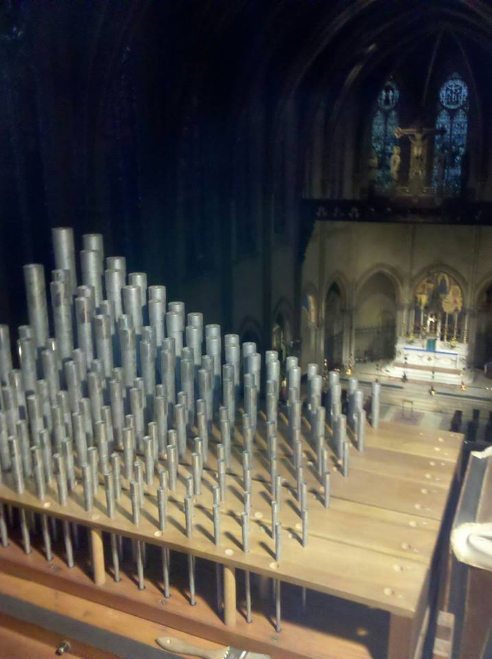 View from the organ loft