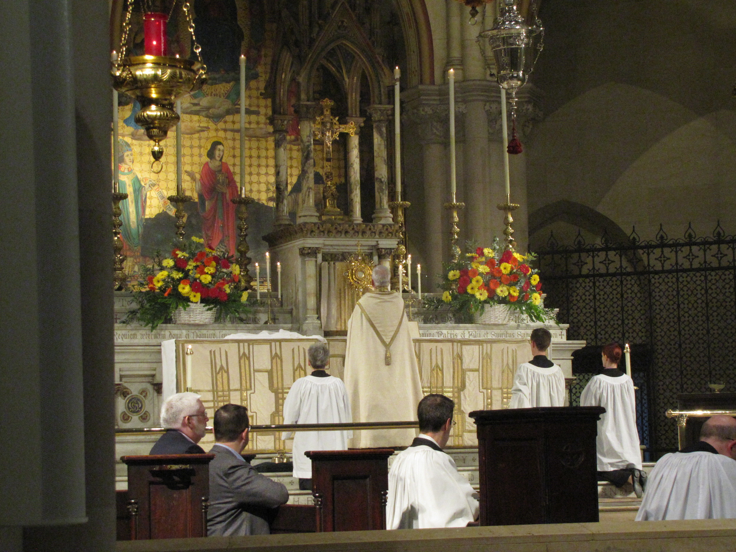 Sunday Evensong and Benediction