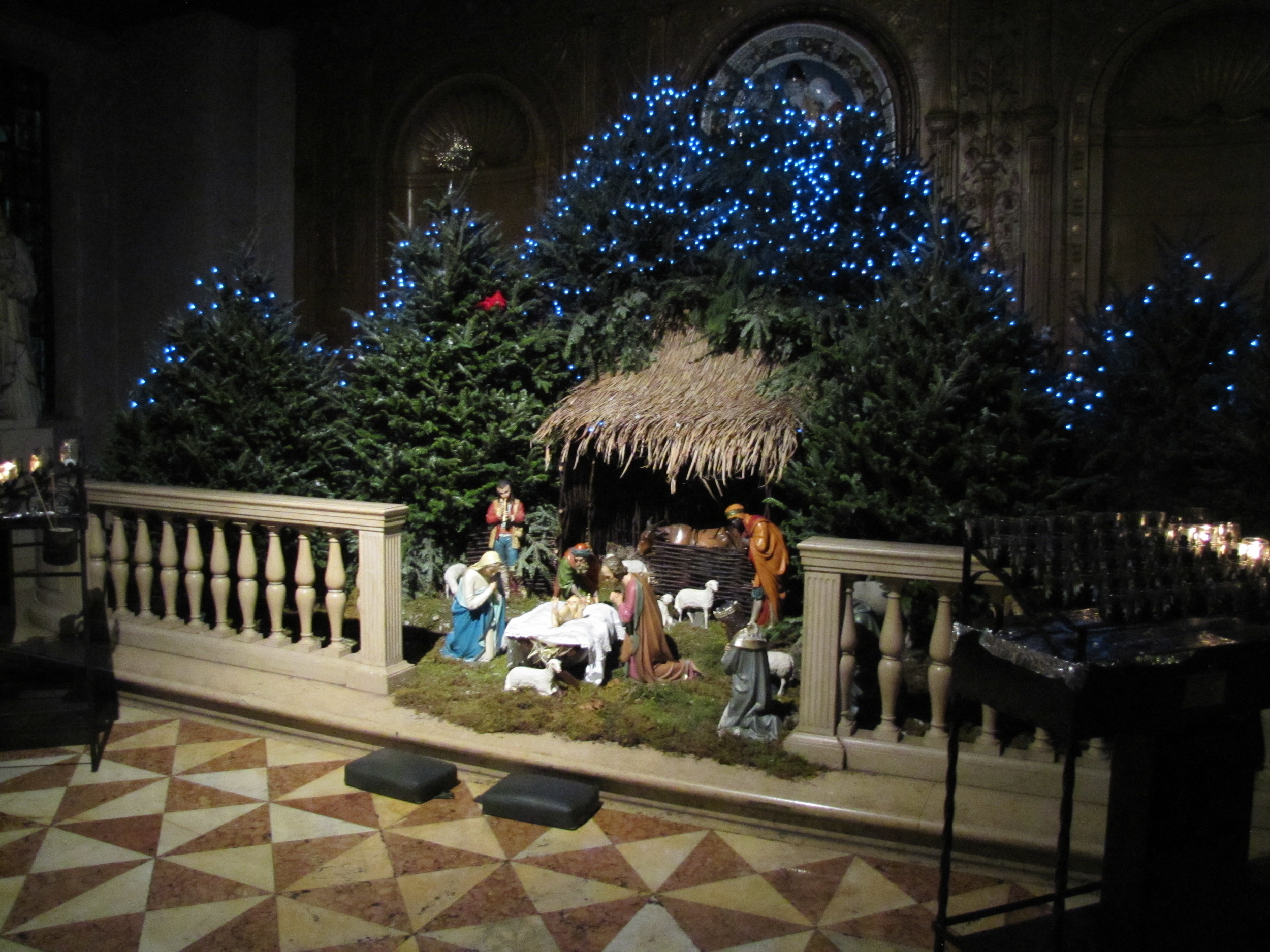 The Creche in Saint Joseph's Chapel at Saint Mary's