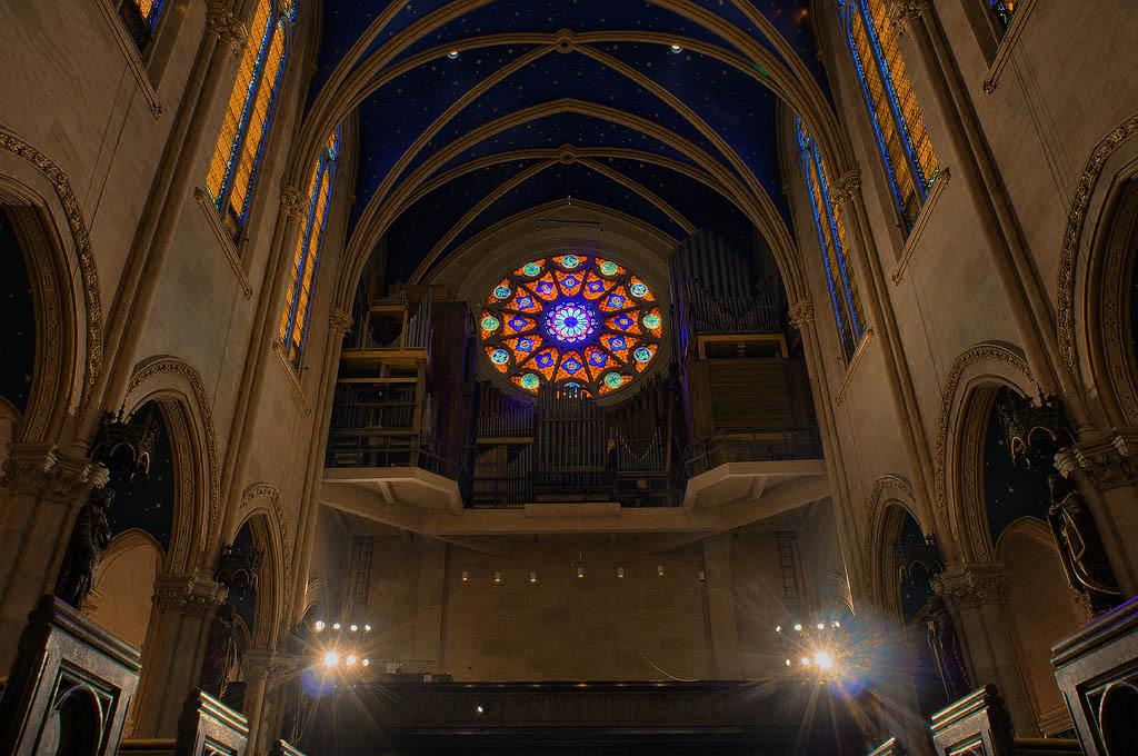 The organ at Saint Mary's (Photo:  Daniel Mitterdorfer)