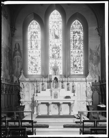 The Lady Chapel in the 1930s