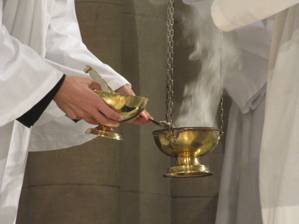 """And in every place incense shall be offered to my Name, and a pure offering, says the Lord of Hosts."""