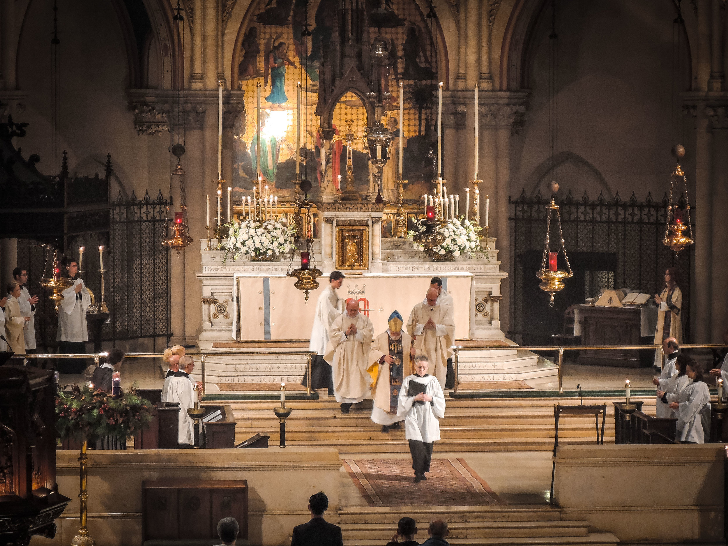Procession to the Pulpit Patronal Feast 2016