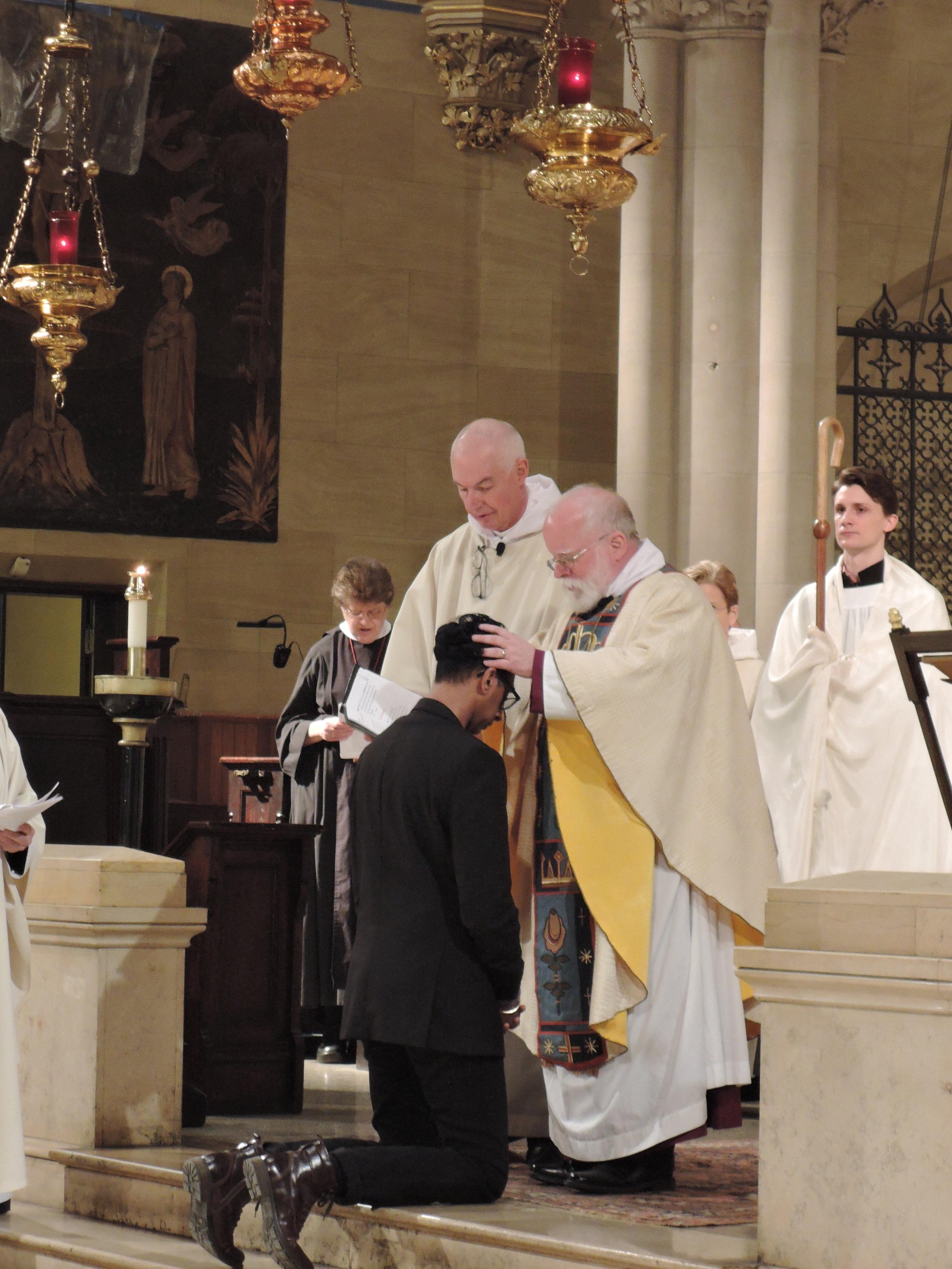 The Bishop confirms Dexter Baksh