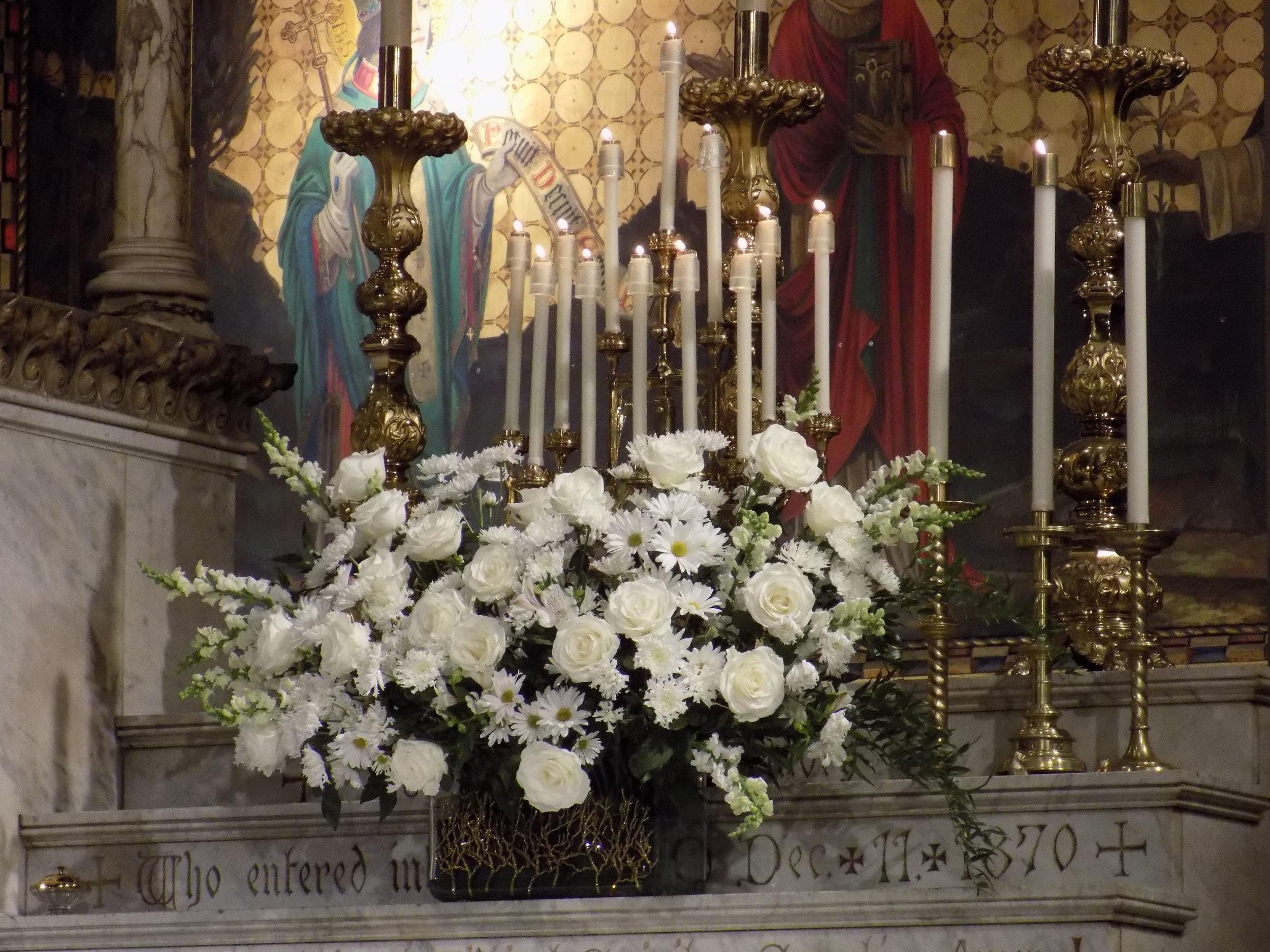The Altar on the Patronal Feast