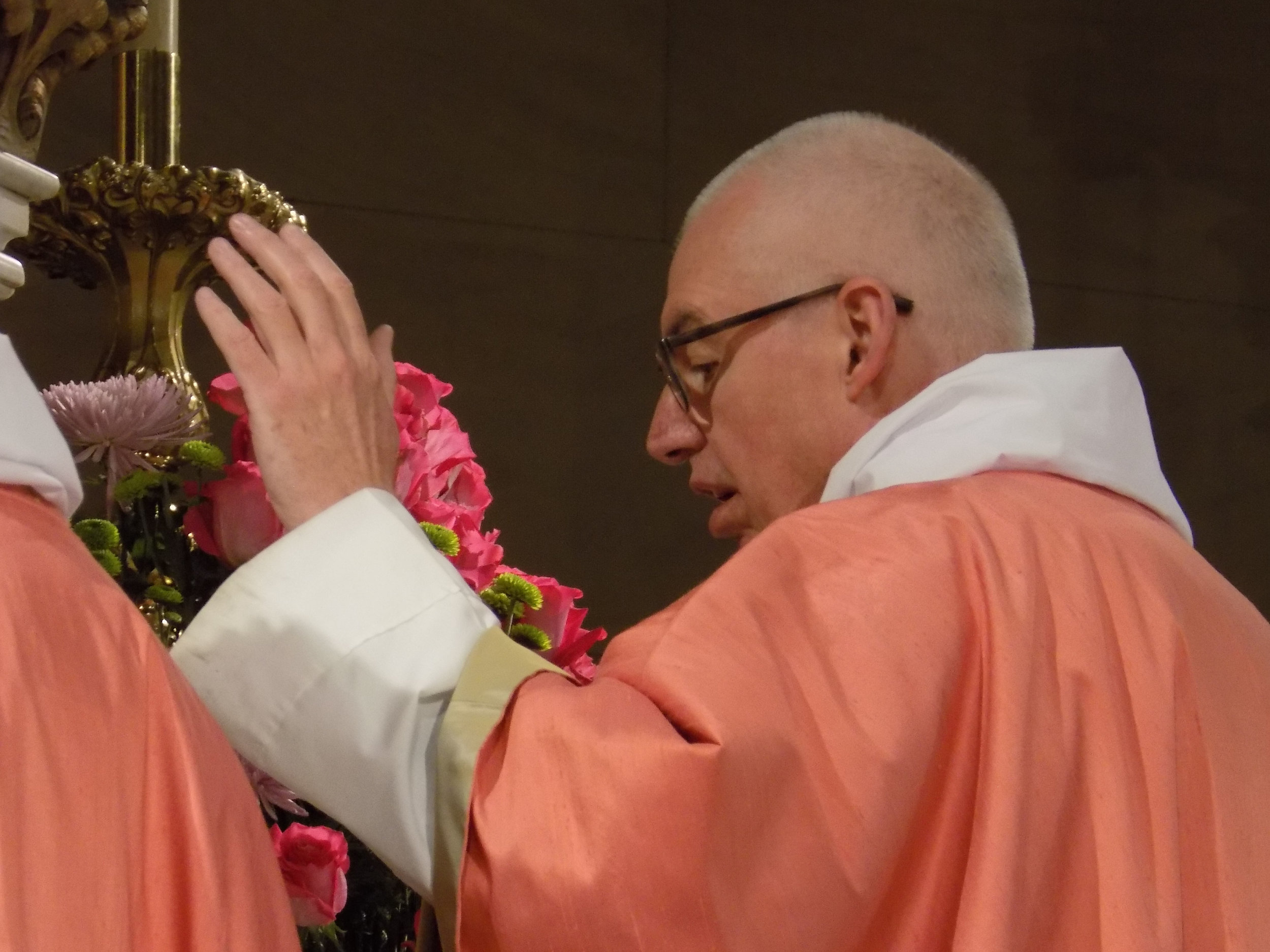 The Rector was celebrant and preacher    at the Solemn Mass