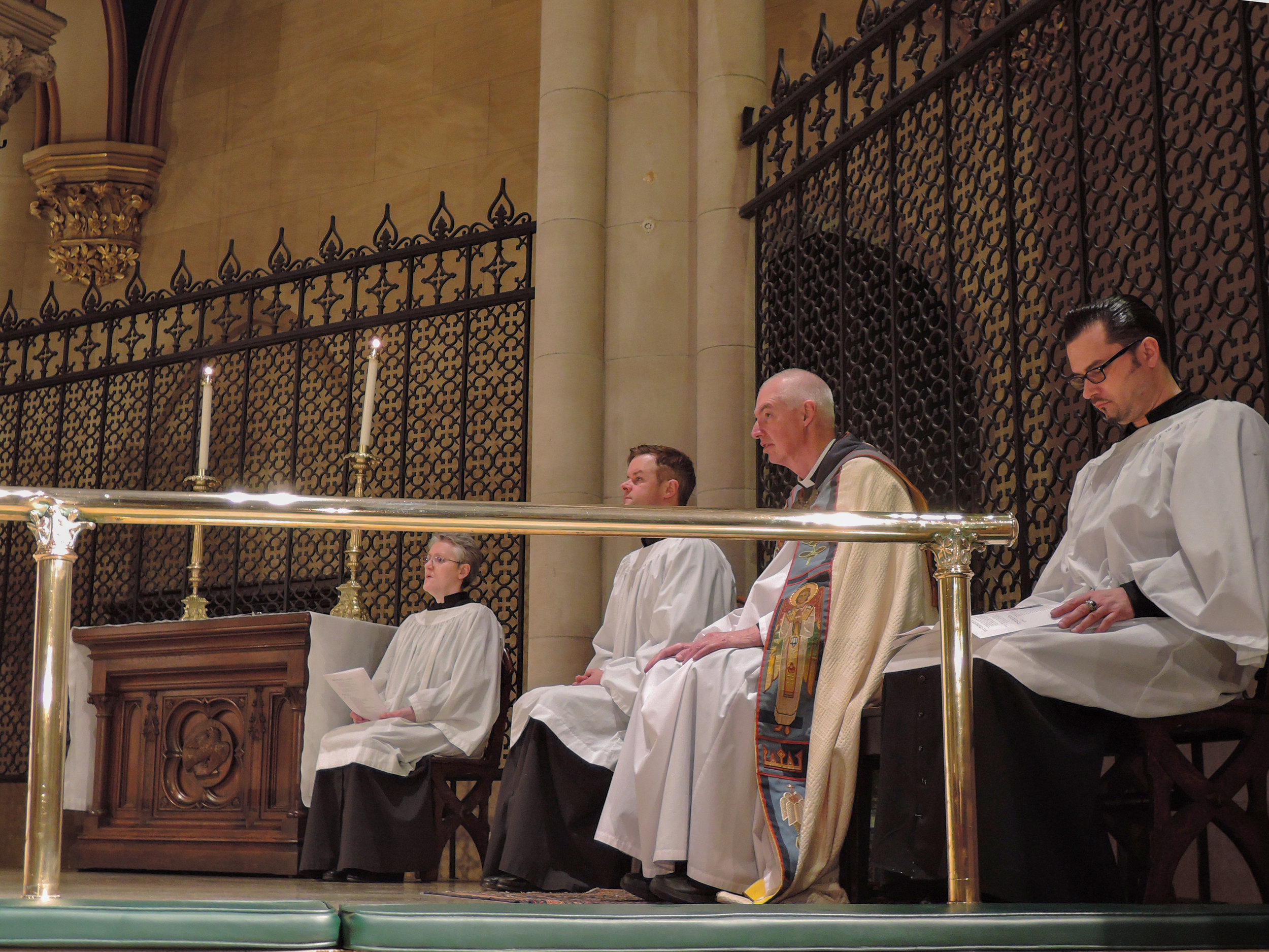 Solemn Evensong on the Eve