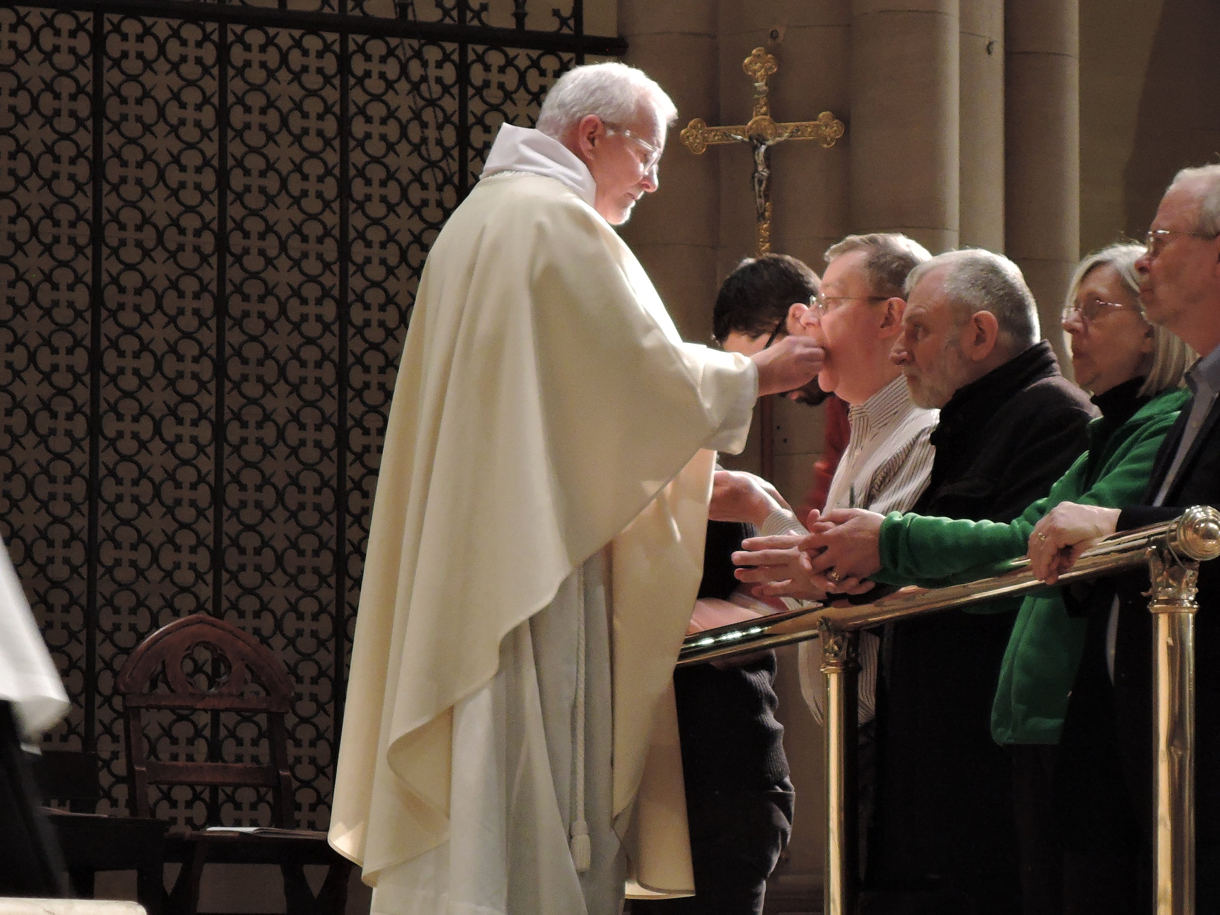 Father Pace was a concelebrant.