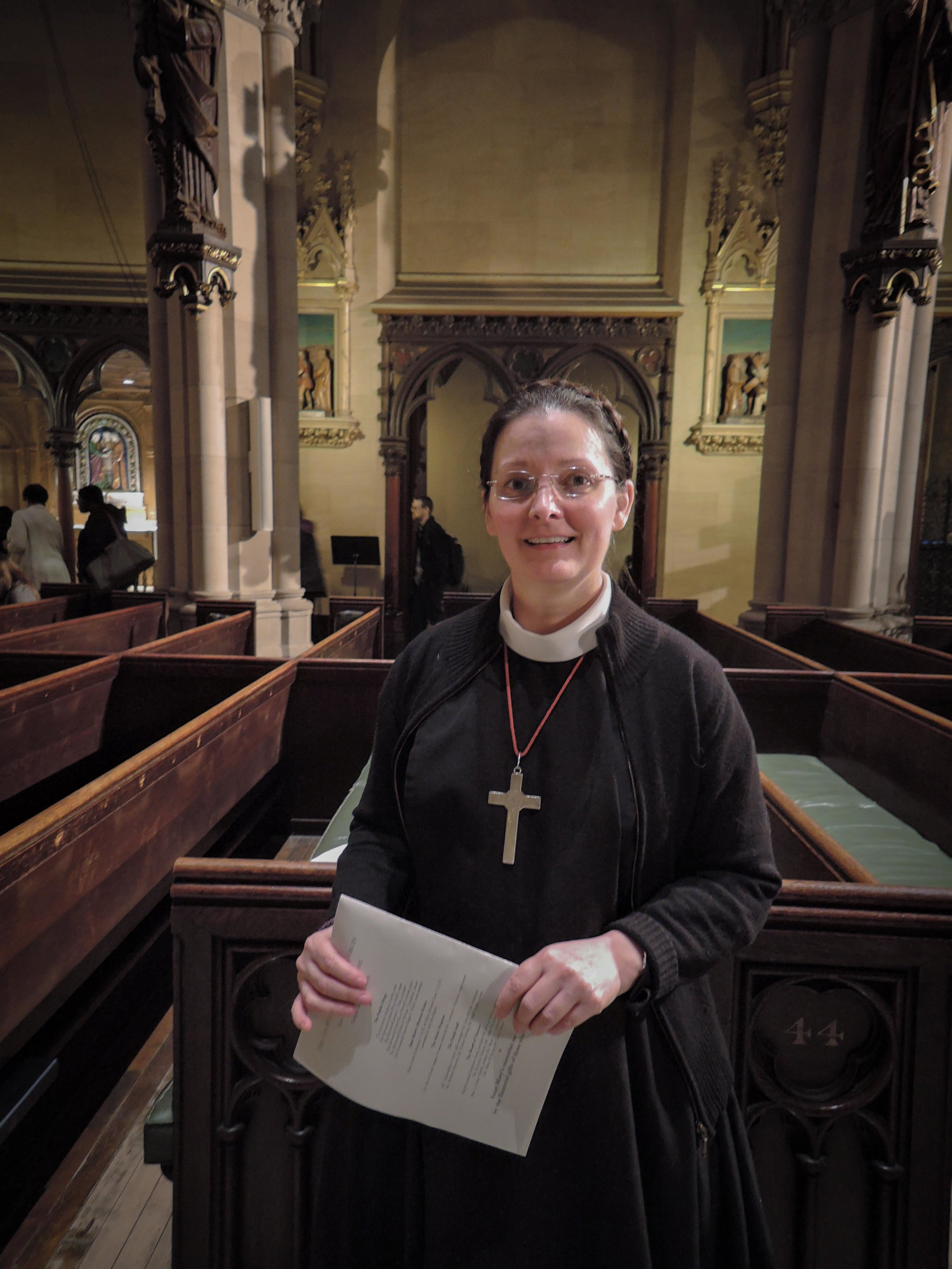 Sr. Monica Clare also assisted.