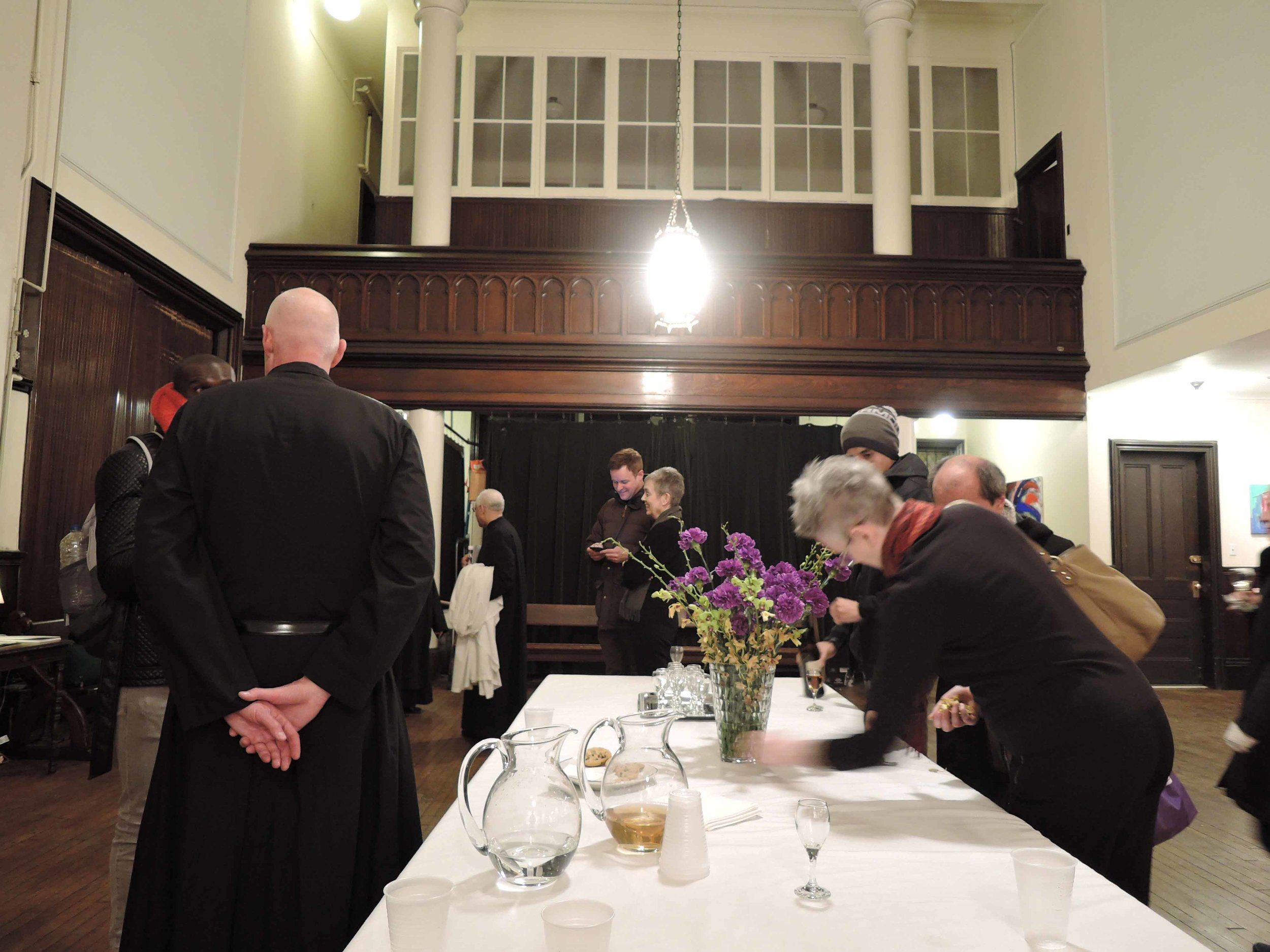 There are always refreshments following Sunday Evensong & Benediction.