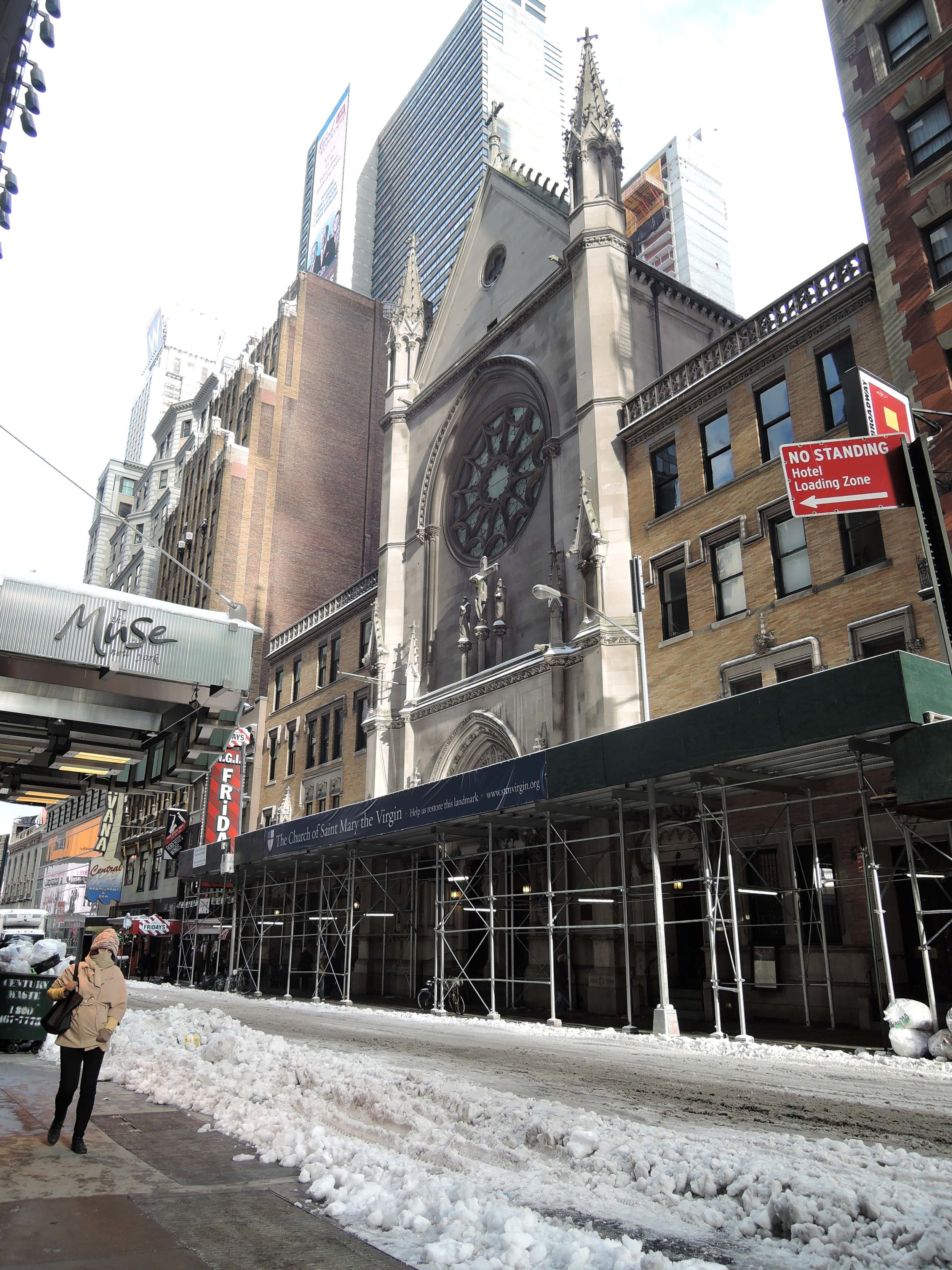 Forty-sixth Street and Saint Mary'spost-blizzard