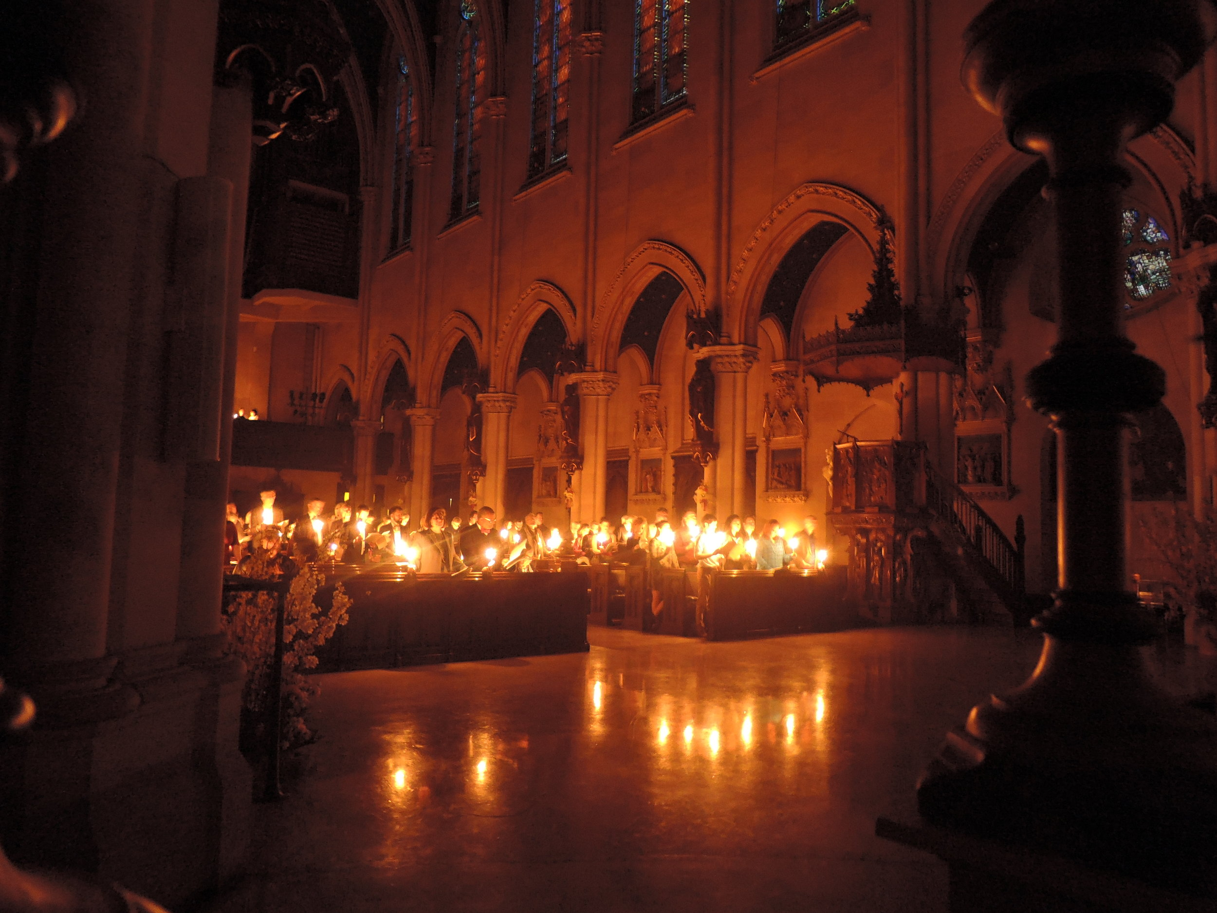 Easter Vigil at Saint Mary's