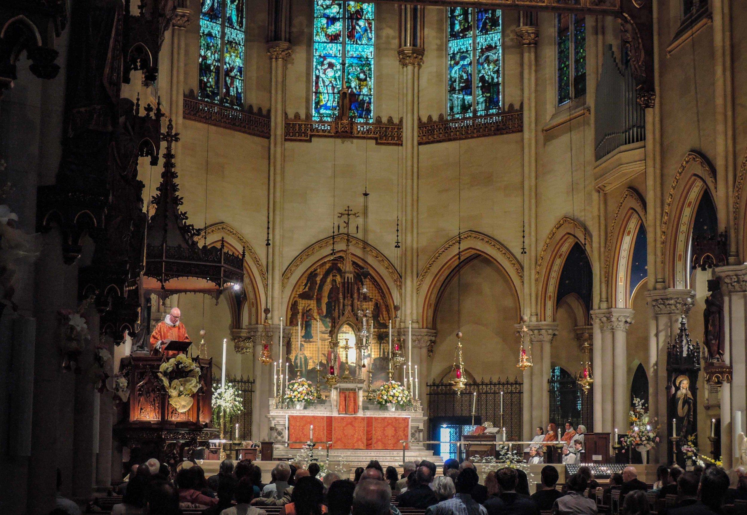 Solemn Mass Easter Day