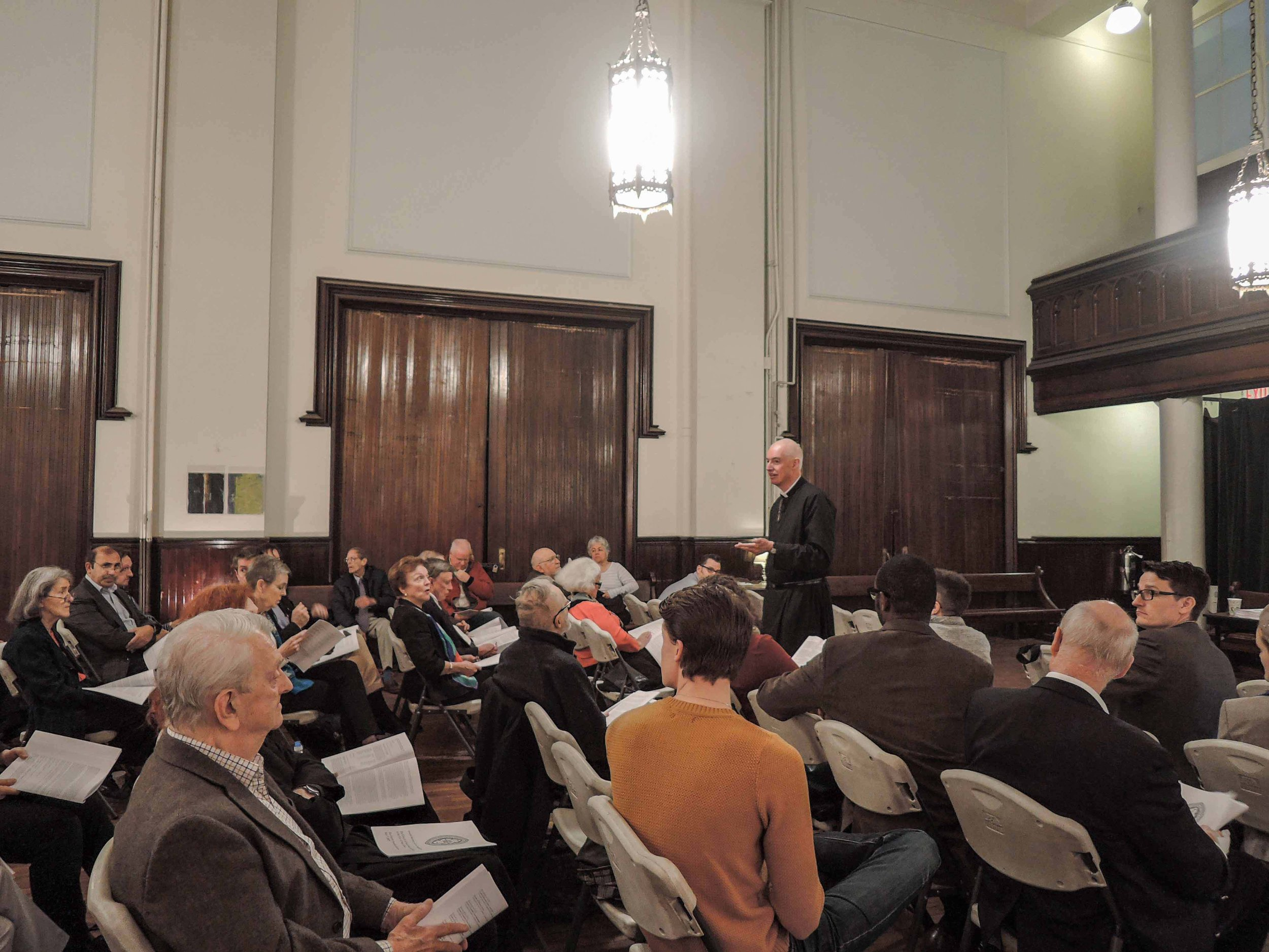 The Annual Meeting of the congregation was held after the Solemn Mass last Sunday.