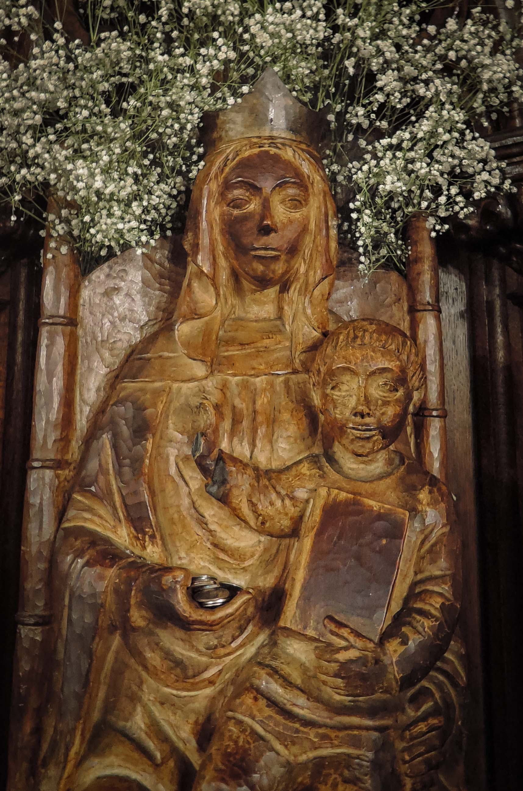 Statue of Our Lady of Walsingham in the Lady Chapel